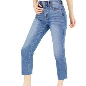 NWT Celebrity Pink Cropped Straight Leg Jeans